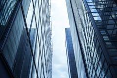 Moderne Glasarchitektur Lizenzfreies Stockbild