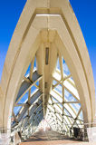 Moderne Glasbrücke Stockbild