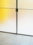 Moderne glasdeur Stock Foto