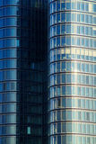 Moderne Glasfassade Stockfotos