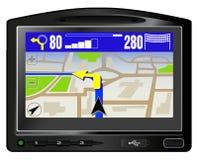 Moderne GPS Stock Afbeelding