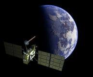 Moderne GPS satelliet Royalty-vrije Stock Afbeelding
