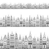 Moderne Grote Stad vector illustratie