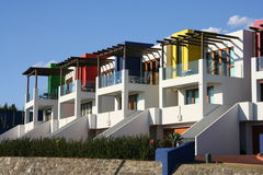 Moderne Häuser Stockfotos