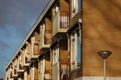 Moderne Häuser Stockbild