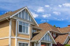 Moderne Häuser Lizenzfreies Stockbild