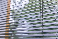 Moderne hölzerne Vorhänge für Haus und Büro - alter Blick der Weinlese Lizenzfreie Stockbilder