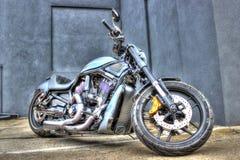Moderne Harley Davidson-motorfiets royalty-vrije stock afbeelding