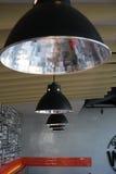 Moderne helle Lampe Stockbild