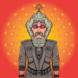 Moderne herrliche Mann Bollywood-Art Lizenzfreie Stockfotografie