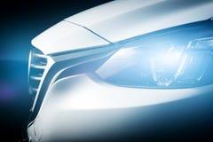 Moderne het close-upachtergrond van de luxeauto Stock Foto's