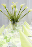 Moderne Hochzeitstabellendekoration Lizenzfreies Stockfoto