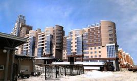 Moderne hoge stijgingsgebouwen Stock Afbeelding