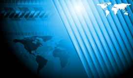 Moderne hoogte - technologieontwerp Royalty-vrije Stock Afbeeldingen