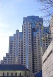 Moderne Hotelarchitektur in SF lizenzfreie stockfotografie