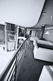Moderne hotelhal Royalty-vrije Stock Afbeeldingen