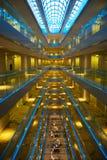 Moderne hotelinterrior royalty-vrije stock afbeeldingen