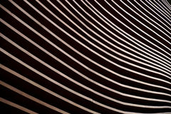 Moderne houten lijnen Stock Foto's