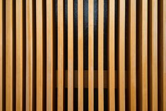Moderne houten muur Stock Fotografie