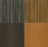 Moderne houten texturen Royalty-vrije Stock Afbeeldingen