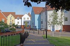 Moderne Huisvesting het UK Royalty-vrije Stock Afbeelding