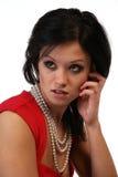 Moderne indische Frau Lizenzfreies Stockfoto