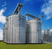 Moderne Industrie Royalty-vrije Stock Afbeelding