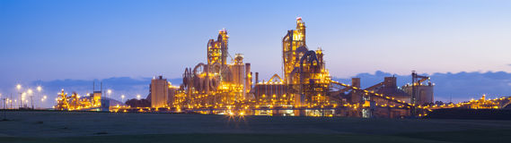 Moderne Industrie Lizenzfreies Stockbild