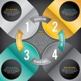 Moderne Infographic Royalty-vrije Stock Foto