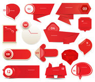 Moderne infographics Wahlfahne. Vektorillustration. kann für Arbeitsflussplan, Diagramm, Zahlwahlen, Webdesign, pri verwendet werd Stockfotos