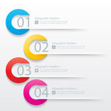 Moderne infographicsbanner Stock Foto's