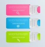 Moderne inforgraphic Schablone Kann für Fahnen, Websiteschablonen verwendet werden und Designe, infographic Poster, Broschüren, A Stockbilder