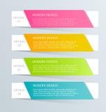 Moderne inforgraphic Schablone Kann für Fahnen, Websiteschablonen verwendet werden und Designe, infographic Poster, Broschüren, A Stockfoto