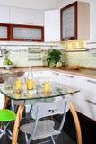 Moderne Innenküche Lizenzfreies Stockfoto