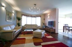 moderne intérieur à la maison Image stock