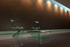 moderne intérieur illustration stock