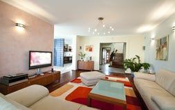 moderne intérieur à la maison Photo libre de droits