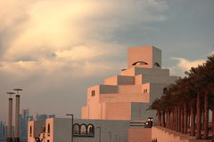 Moderne islamische Architektur Stockbild