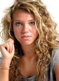 Moderne junge Dame Stockbilder