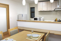 Moderne Küche lizenzfreie stockbilder
