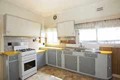 Moderne Küche stockfotos