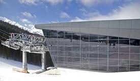 Moderne Kabelbahn FUNITEL stockbild