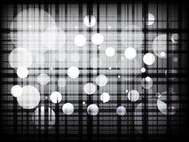Moderne karierte Linien mit abstraktem Hintergrund der Punkte stock abbildung