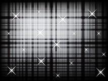 Moderne karierte Linien mit abstraktem Hintergrund der Punkte lizenzfreie abbildung
