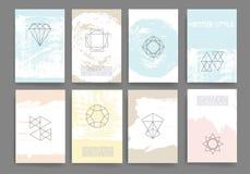 Moderne Kartendesignschablone Lizenzfreie Stockfotografie