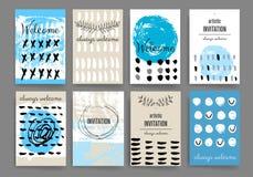 Moderne Kartendesignschablone Stockbild