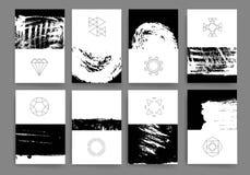 Moderne Kartendesignschablone Stockbilder