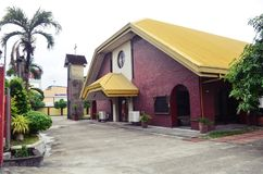 Moderne katholische Kirche in San Fernando, Philippinen Lizenzfreie Stockfotografie