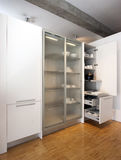 Moderne Küche, Detail Stockfotos