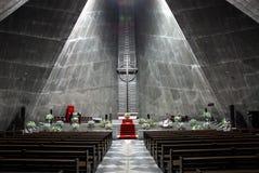 Moderne kerk Stock Foto